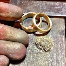 make your own wedding band goldschmied bezirk treptow köpenick golt baer workshop 2