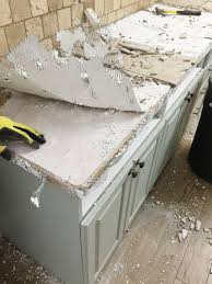 removing kitchen tile backsplash furniture remove laminate countertop how to repair and refinish