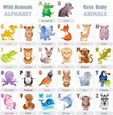 wild baby animals alphabet stock vector art 513806170 istock