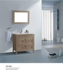 pvc bathroom vanity with side cabinet