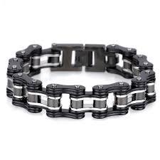 black man bracelet images Buy 16mm wide black stainless steel man bracelet jpg