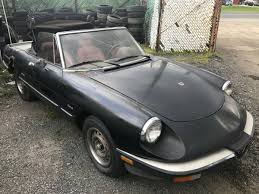 fiat spider 1981 50 best used alfa romeo spider for sale savings from 2 589