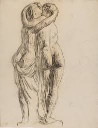 cast drawing cupid and psyche pafa pennsylvania academy of