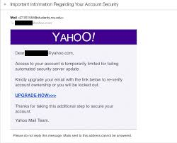Email Yahoo Phishing Caign Uses Yahoo Breach To Hook Email Cso