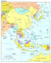 Asia Map by South East Asia Map Simple East And South Asia Evenakliyat Biz