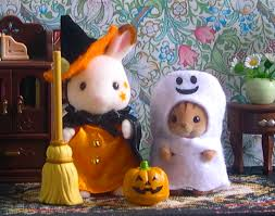 Baby Squirrel Halloween Costume Teddy Bears U0026 Friends Sylvanian Families U2013 Jp Trick Treat