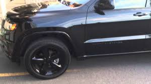 murdered jeep grand cherokee jeep grand cherokee black on black pimped out 20 inches rims mags