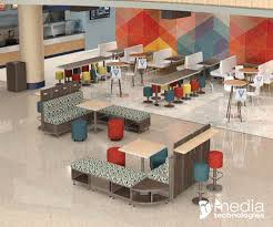 Interior Design Learning by Learning Commons And Food Courts Furnishings