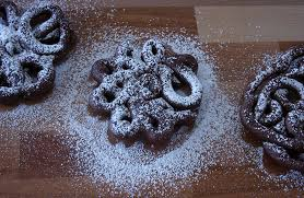 mexican chocolate funnel cake nomad with cookies