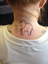 cute and impressive elephant tattoo ideas
