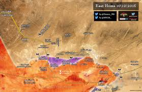 Syria Fighting Map by Day Of News On The Map December 09 2016 Map Of Syrian Civil