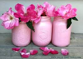 Flower Vase Painting Ideas Painted Mason Jar Flower Vases Fresh Eggs Daily