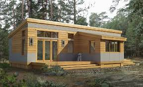shed roof houses efficient custom hybrid pre fab home plans