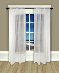 Curtains With Rods On Top And Bottom Rod Pocket Top And Bottom Sheers Sheer Curtains Rod Pocket Top