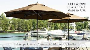 Patio Umbrella Commercial Grade by Commercial Market Umbrellas Youtube
