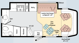 Sprinter 5th Wheel Floor Plans View Navion Sprinter Wiki