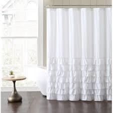 Turquoise Ruffle Curtains White Shower Curtains You U0027ll Love Wayfair