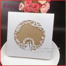 Wedding Invitation Card Diy Online Buy Wholesale Lace Diy Wedding Invitations From China Lace