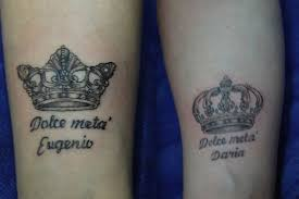 tattoo of queen and king top 74 couple tattoos for love birds