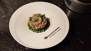 cuisiner les petit pois frais la cuisine j adore tartare de veau et petits pois frais recette