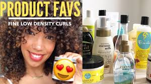 hair thickening products for curly hair the best curly hair products for fine low density curls youtube