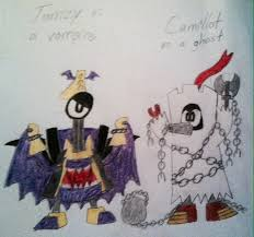 mixels jamzy and camillot u0027s halloween costumes by pogorikifan10