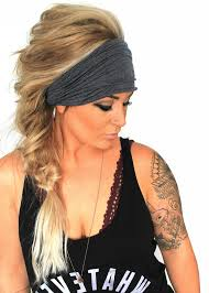 wide headband soot scrunch headband wide headband turban jersey headband