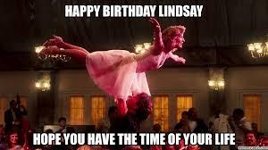 Happy Birthday Meme Dirty - dirty dancing