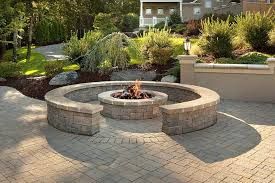 Firepit Blocks Retaining Wall Block Pit Pit Design Ideas