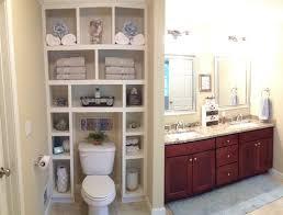 bathroom built in storage ideas master bath storage idea