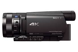 black friday camcorder amazon com sony fdr ax100 b 4k video camera with 3 5 inch lcd