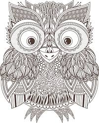 Patterned Flying Owl Drawing Illustration 400 Best Buhos 01 Images On Owls Owl And Owl