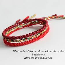 handmade bracelet string images Handmade knots lucky rope bracelet protection kundalinispirit jpg