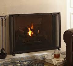 Single Fireplace Screen by Best 25 Industrial Fireplace Screens Ideas On Pinterest Modern