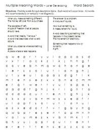 Meaning Words Worksheets Meaning Words A Website With Lists Worksheets And