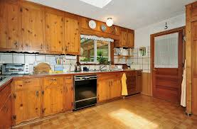 Knotty Pine Flooring Laminate by Oak Wood Honey Prestige Door Knotty Pine Kitchen Cabinets