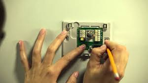 how to install your honeywell wi fi smart thermostat youtube