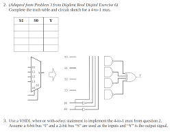 complete the table calculator component complete the truth table and circuit sketch for