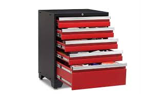 new age pro series cabinets newage pro series 3 0 red 5 drawer tool cabinet