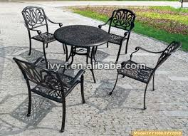 patio tables and chairs for gazebo curved patio furniture metal