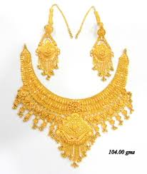 new gold set designer gold jewellery manufacturer from new delhi