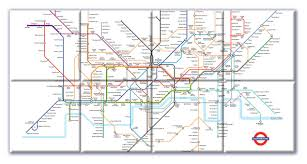 Underground Map Ceramic Map Tiles London Underground Map From Love Maps On