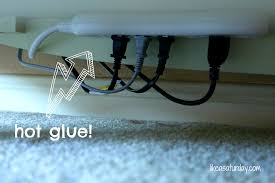 apartments attractive hide cables wall clean organized look