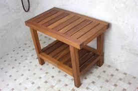 17 wide teak wall mount fold down shower seat teakworks4u