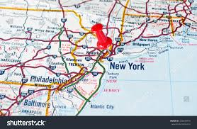 Chicago Tolls Map by Map New York City Ny Red Stock Photo 154633919 Shutterstock