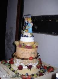 wedding cake made of cheese cake wrecks home who cut the cheese
