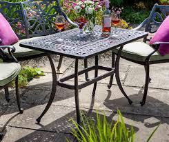 Tall Coffee Table Hartman Capri Rectangular Tall Coffee Table Metal Garden