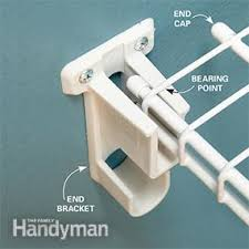 Install Heavy Duty Shelf Brackets In Concrete The Homy Design - how to install wire shelving family handyman