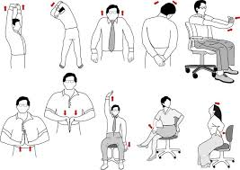 Exercise At The Office Desk 8 Best Exercises To Do At Your Desk In Office Power Humans