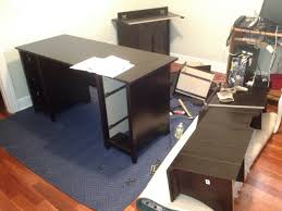 Office Depot L Desk Office Depot Sauder L Desk Big Assembly Assembly